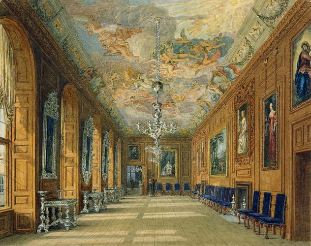 Charles Wild 1781 1835 Windsor Castle The Queen S