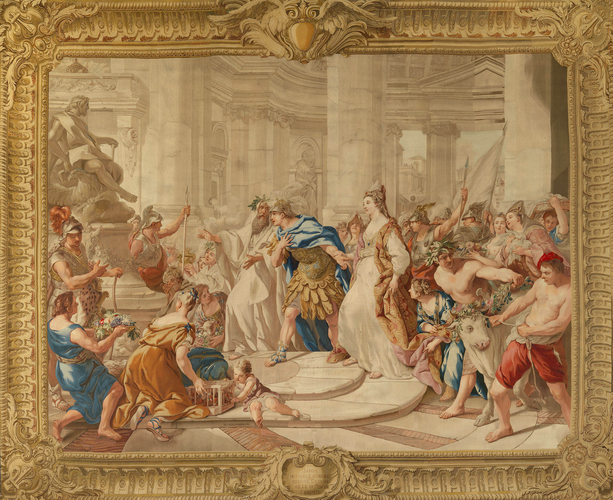 Master: The Story of Jason Item: Jason, unfaithful to Medea, marries Creuse, daughter of the King of Corinth