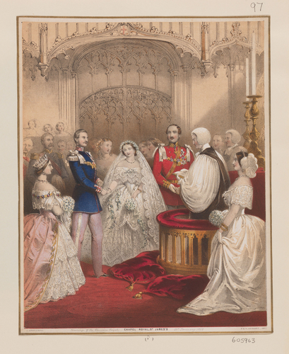 [Wedding of Victoria, Princess Royal and Frederick III]