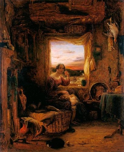 The Interior of an English Cottage