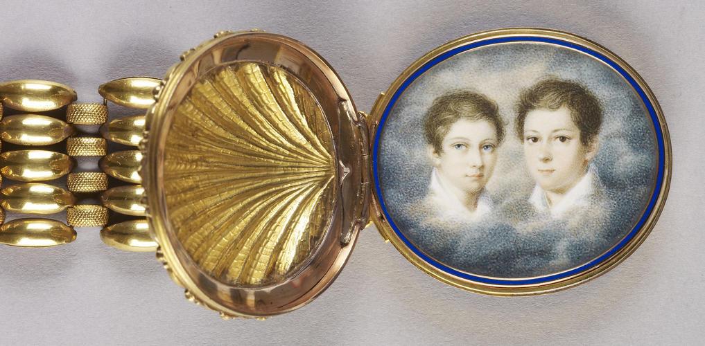 Ernest, Hereditary Prince of Saxe-Coburg-Gotha, (1818-93), later Ernest II, Duke of Saxe-Coburg-Gotha and Prince Albert of Saxe-Coburg-Gotha (1819-61)