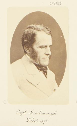 Captain Goodenough, Died 1875 [Photographic Portraits Vol. 4/62 1861-1876]