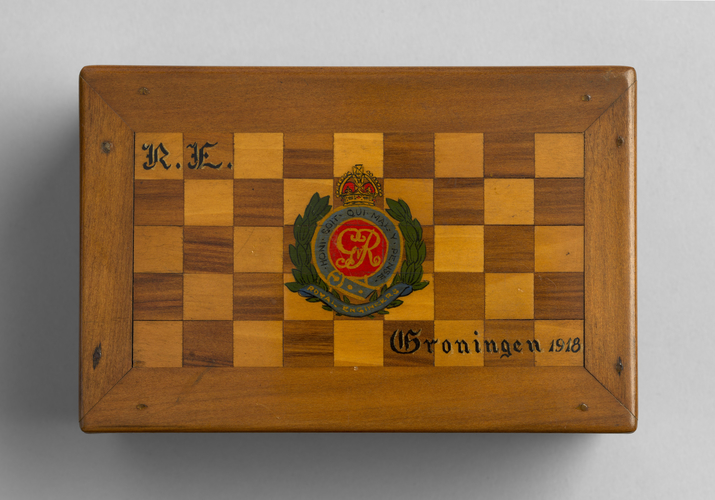 Navy-GB-1st Royal Naval Brigade - Trinket box
