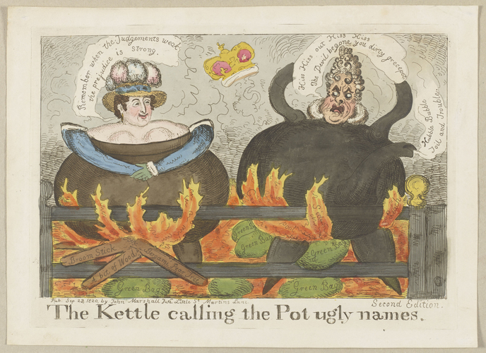 The Kettle calling the Pot ugly names