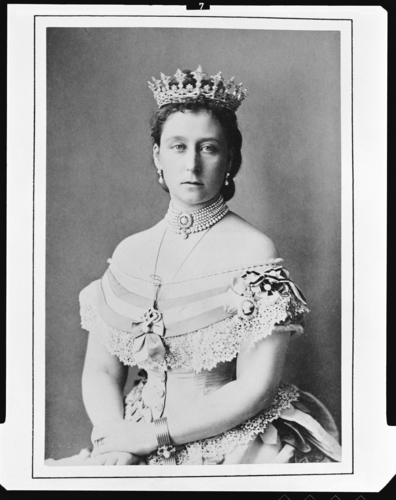 Alice, Princess Louis of Hesse, May 1871 [in Portraits of Royal Children Vol. 15 1870-71]