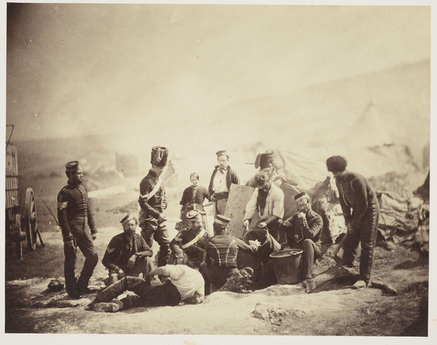 Cooking house, 8th Hussars