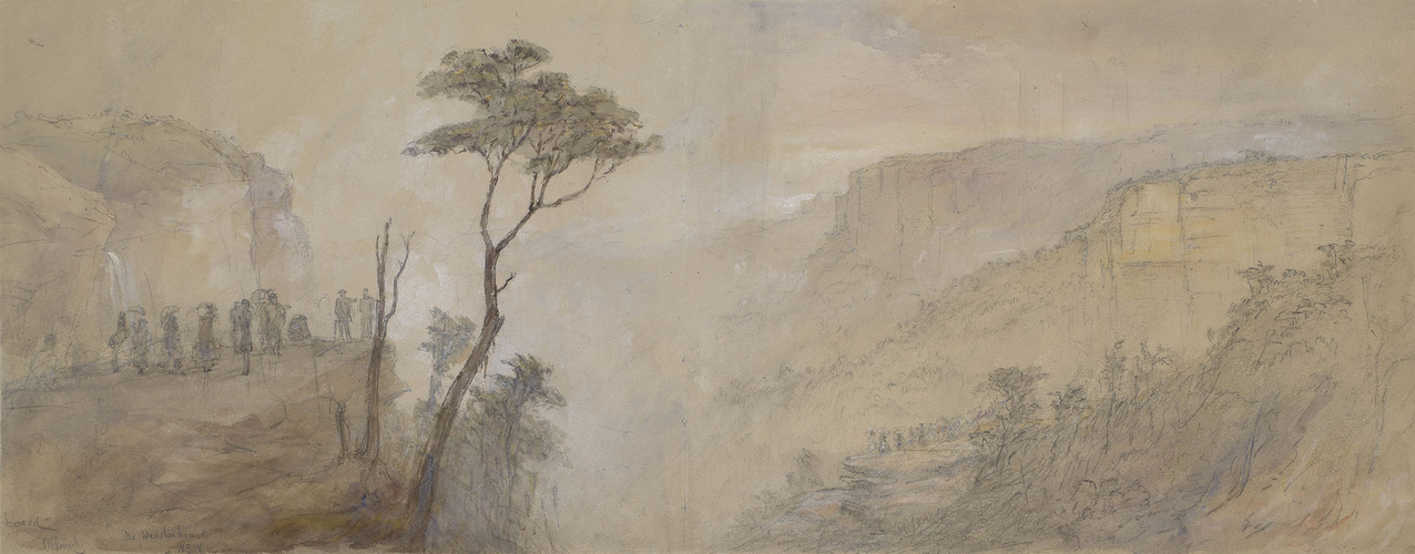 'Waterfall at the Weatherboard', Sydney, New South Wales, 31 January