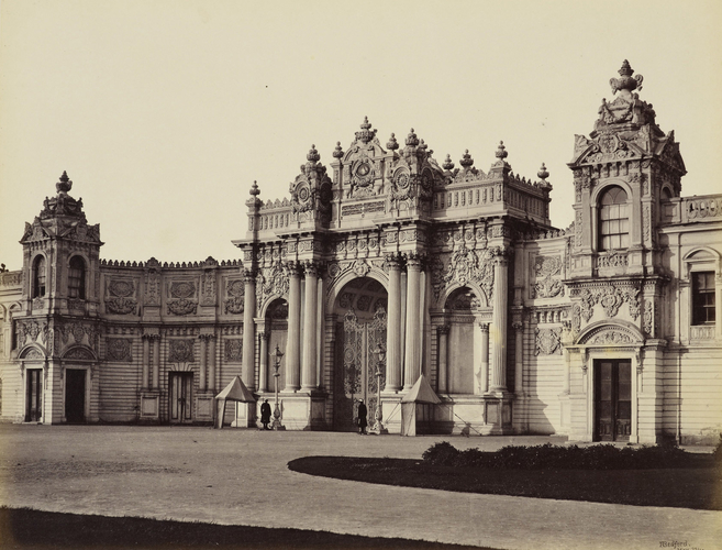 The New Palace, the south entrance [Dolmabahce Palace, Istanbul, Turkey]