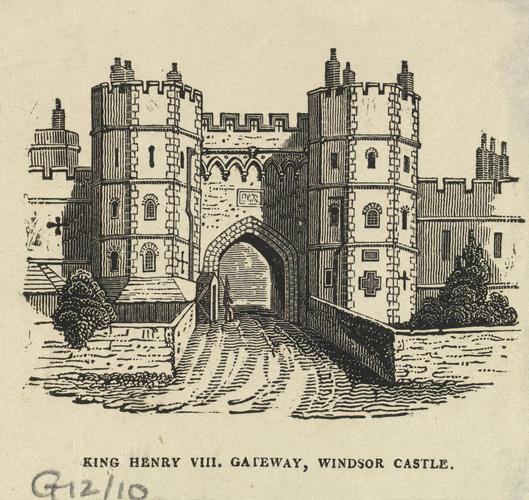 King Henry VIII Gateway, Windsor Castle