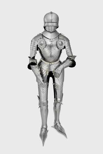 Composite cap-a-pie field armour of the Marquess of Waterford
