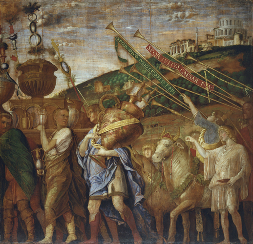 The Triumphs of Caesar: 4. The Vase-Bearers