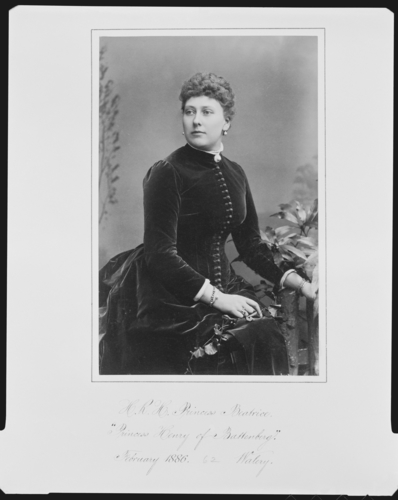 Beatrice, Princess Henry of Battenberg, 1886 [in Portraits of Royal Children Vol. 34 1885-1886]