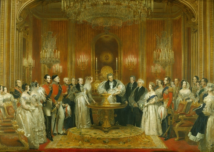 The Christening of Victoria, Princess Royal, 10 February 1841