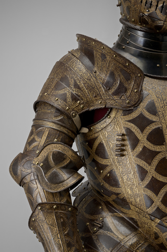 Armour for the field, tourney course, tilt and barriers of Sir Christopher Hatton