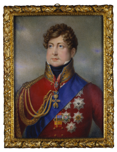 George IV (1762-1820) when Prince Regent