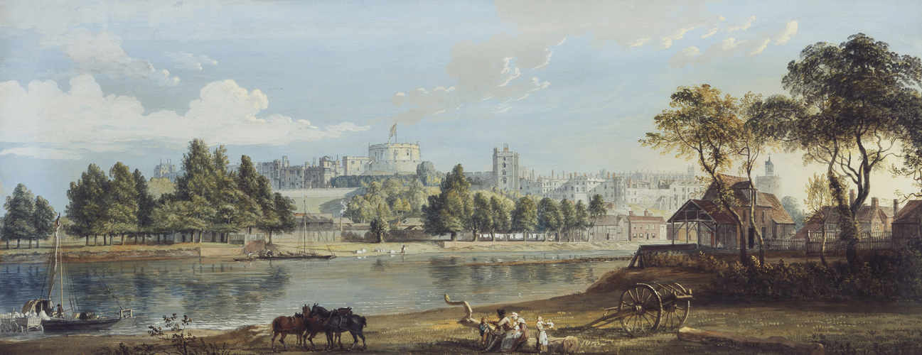 Windsor Castle from the Eton Shore