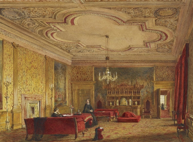 Palace of Holyroodhouse: the Presence Chamber or Evening (Outer) Drawing Room
