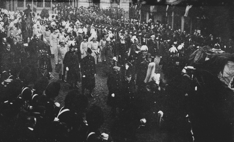 Queen Victoria's funeral procession, Windsor, February 1901