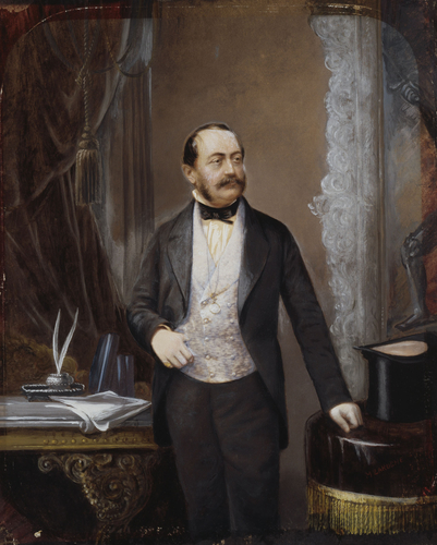 Martin Laroche (1814-86) - Charles, Prince of Leiningen (1804-56)