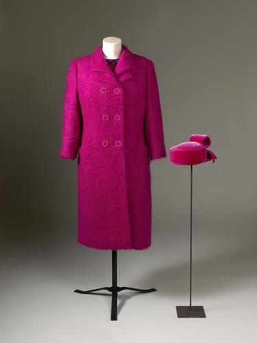 Master: Coat, dress and hat
