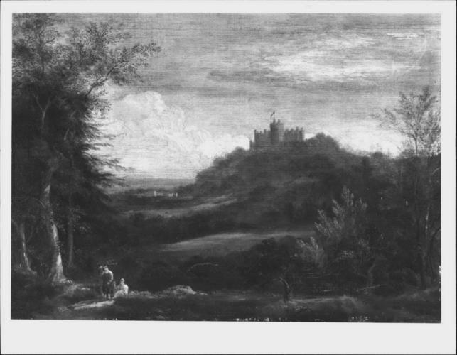 A View of Belvoir Castle