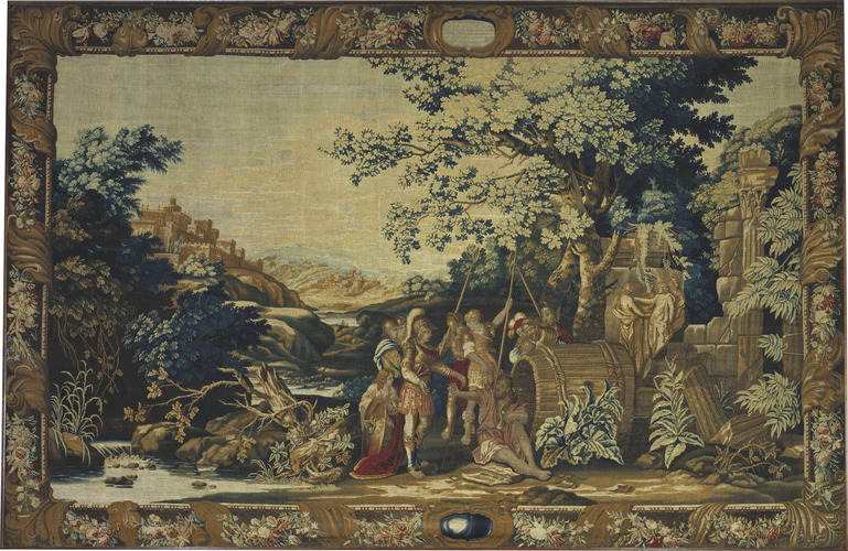 The meeting between Alexander the Great and Diogenes