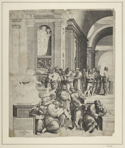 The School of Athens (left half)