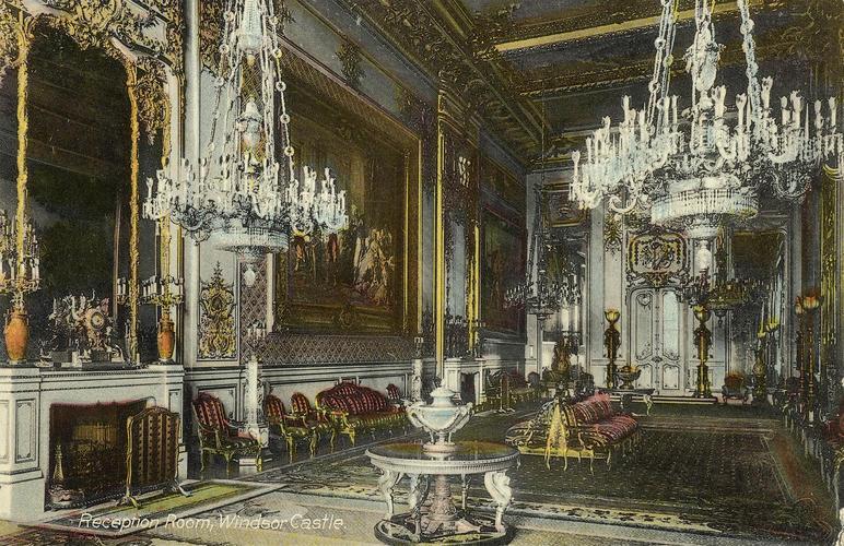 - Reception Room, Windsor Castle