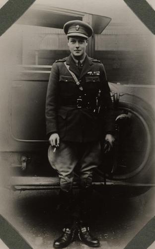 Prince Edward, later King Edward VIII (1894-1972) in uniform