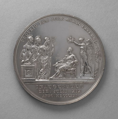 Medal commemorating the Coronation of George IV