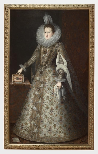 Frame for RCIN 404970, Pantoja, Margaret of Austria