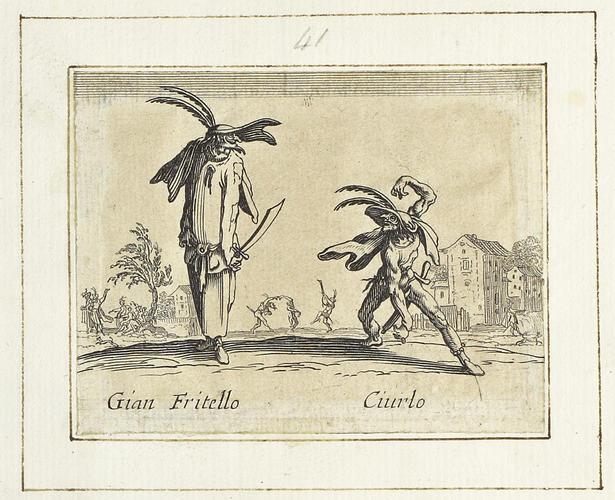 Master: Balli di Sfessania Item: Gian Fritello and Ciurlo