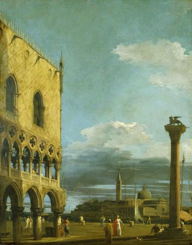 Venice: the Piazzetta towards S. Giorgio Maggiore