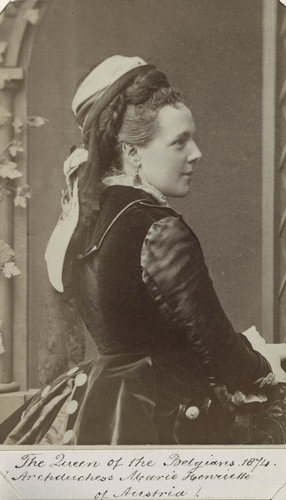 Archduchess Marie Henriette, Queen of the Belgians (1836-1902)