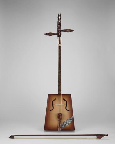 Morin Khuur (horse head fiddle)