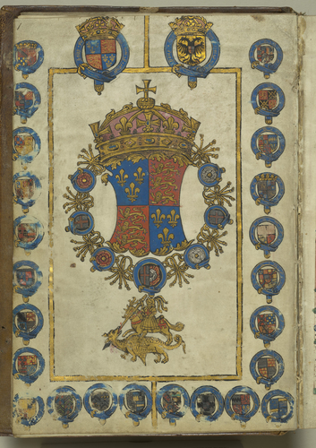The Wriothesley Garter book