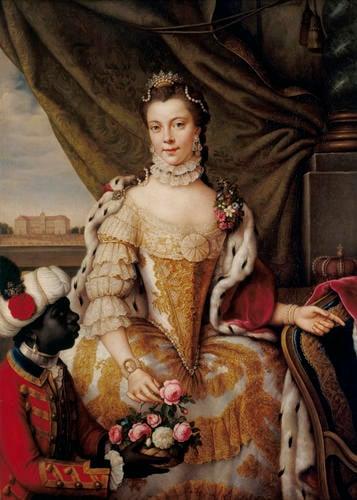 Queen Charlotte (1744-1818) when Princess Sophie Charlotte of Mecklenburg-Strelitz