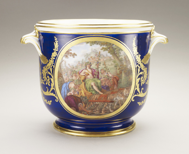 Seaux a bouteille (part of the Louis XVI dinner service)