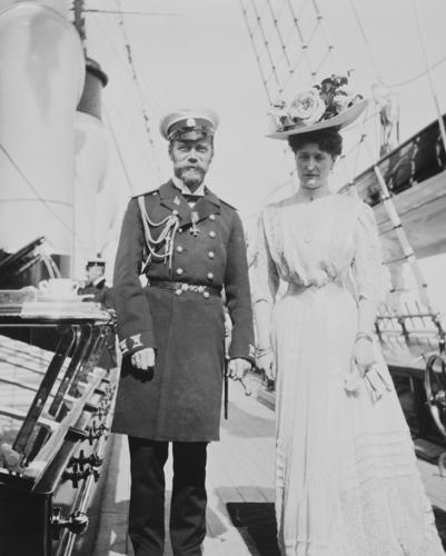 Tsar Nicholas II and Empress Alexandra Feodorovna