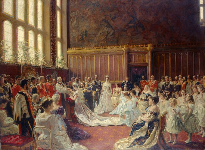 The Marriage of George, Duke of York, with Princess Mary of Teck, 6 July 1893