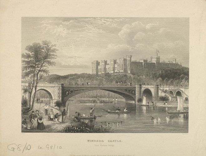 Windsor Castle from Victoria Bridge
