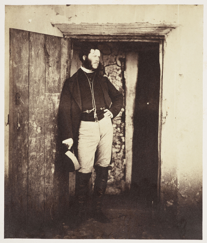 Mr Angell, Postmaster, 1855 [in Photographic Views and Portraits of the Crimean Campaign, Box 1]