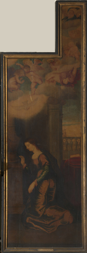 The Virgin at the Annunciation