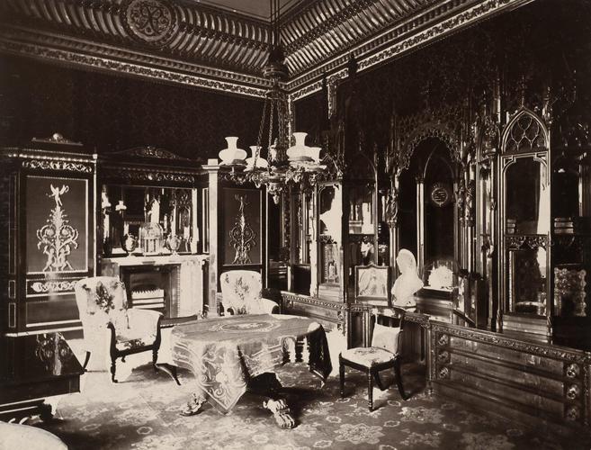 Prince Consort's Organ Room [Buckingham Palace, 1873. Volume A]