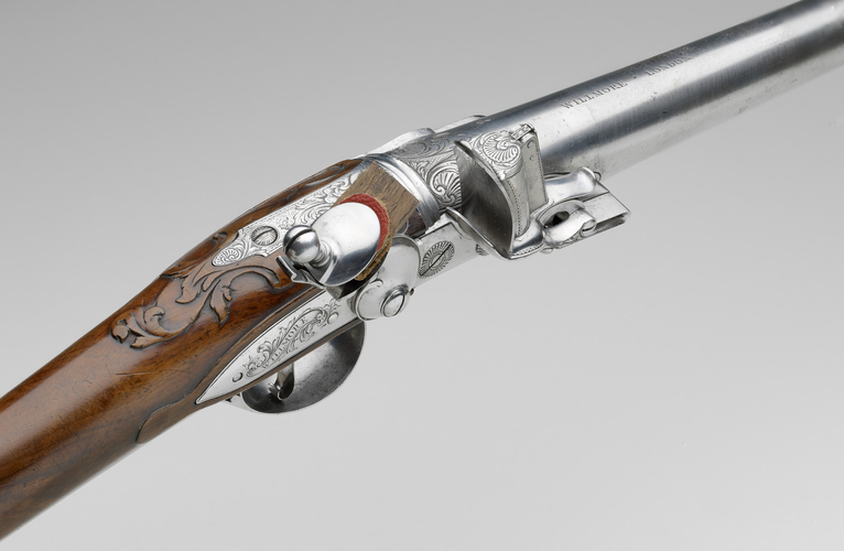 James Willmore - Flintlock breech-loading gun