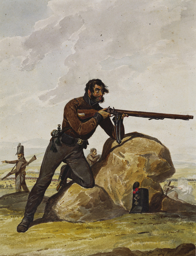 Portuguese Army. 4th Cacadores, 1812