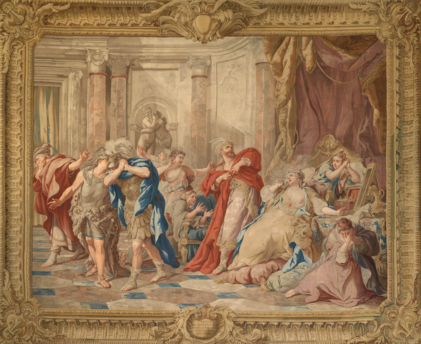 Master: The Story of Jason Item: Creuse is burned to death by the magic robe presented to her by Medea
