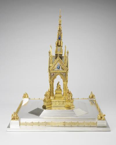 Model of the Albert Memorial