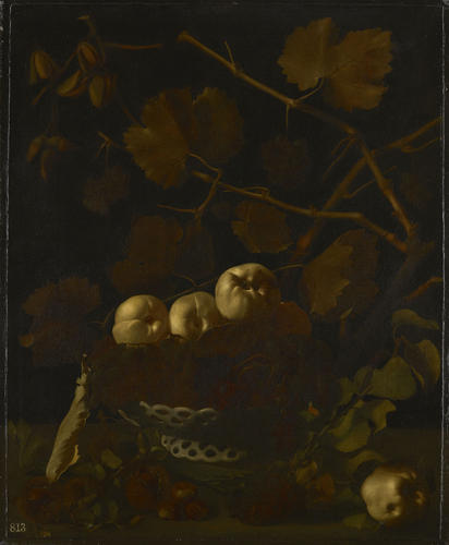 Still Life with Quinces and Acorns