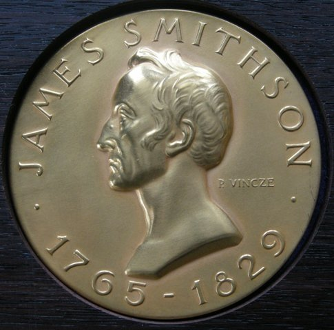 U. S. A. Medal of the Smithsonian Institution